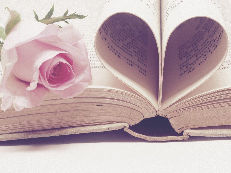 Buch mit Herz